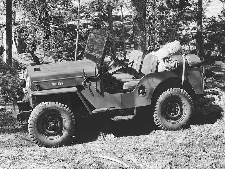 1950s 1953 Willys Military Jeep Cj 3b Universal