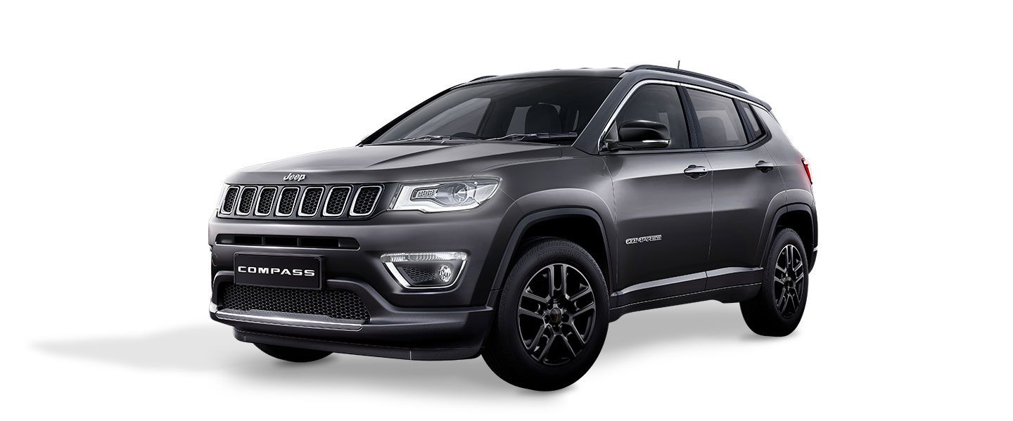 Lovely JEEP® COMPASS. BLACK PACK. COLOURS